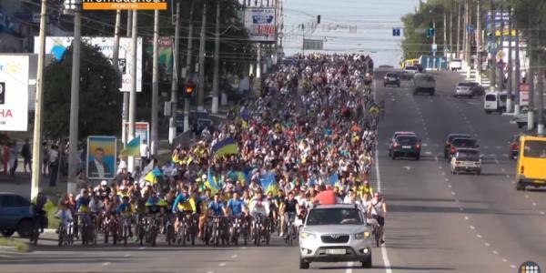 В Кременчуге на День Независимости Украины собирают большой велопробег патриотов