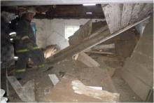 В Кременчугском районе под завалами дома погиб мужчина