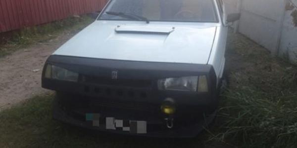 Патрульные нашли автомобиль за два часа