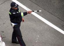 Кременчугские ГАИшники задержали автомобиль с черным ломом