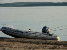В Кременчуге «угнали» резиновую лодку