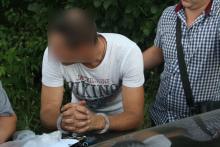 Правоохранители Кременчуга задержали «таксиста»-наркомана