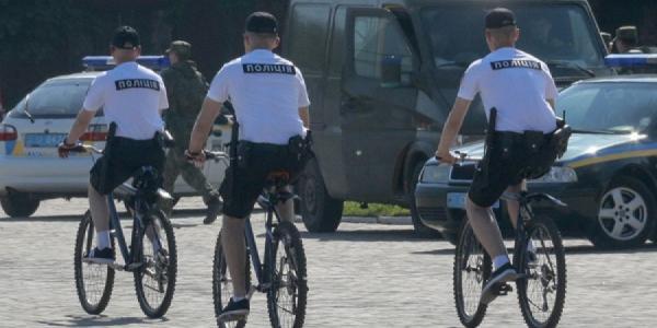 Кременчугские патрульные пересядут на велосипеды