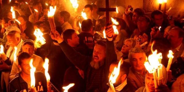 Благодатный огонь из Иерусалима 11 апреля прибудет в Кременчуг