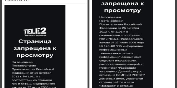 Сайт «Кременчугской газеты» заблокировали в РФ