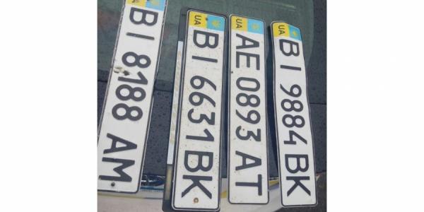Ливень в Кременчуге вчера «отобрал» у машин номерные знаки