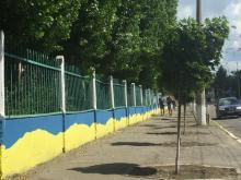 В Кременчуге появится вышитый тротуар