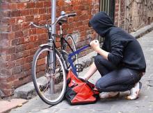 Трос против угона велосипеда – не помеха для угонщика