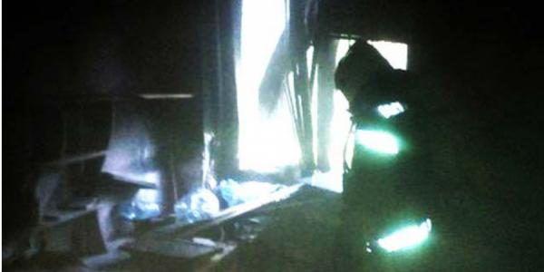 В Полтаве подожгли наркодиспансер