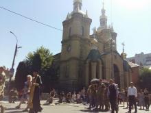 Кременчуг простился с погибшим в АТО Юрием Яценко