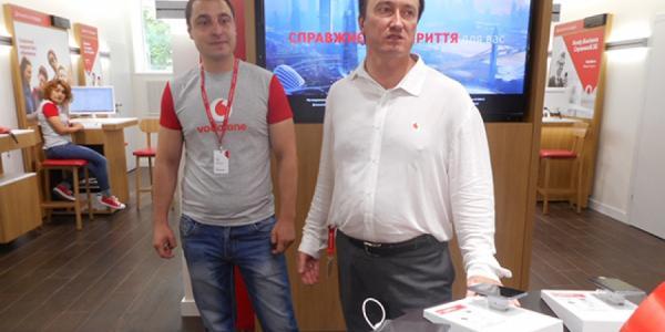 Ко Дню рождения города Vodafone запустит в Кременчуге 3G