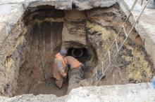Кременчужане возмущены ремонтом теплосетей