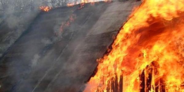 Ночью в Кременчуге горел жилой дом
