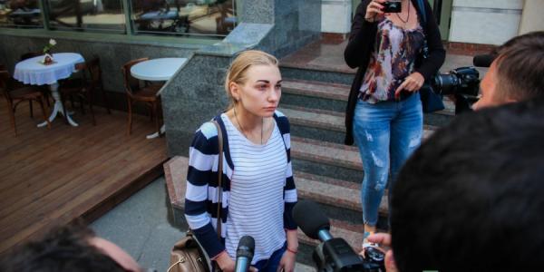 «Русофобы» Кременчуга извинились перед обвиняемой ими в сепаратизме кременчужанкой