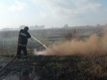 В Полтавской области горит 5 очагов торфа на площади около 124 га