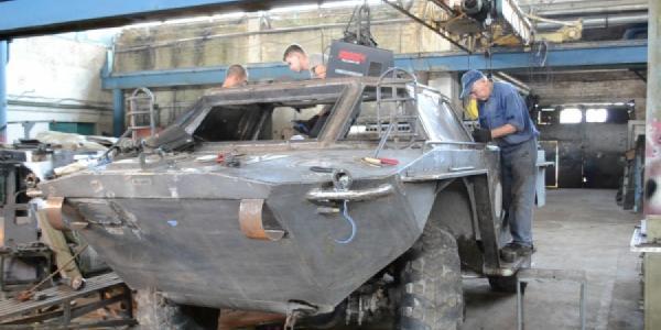 Кременчугские волонтеры модернизировали БРДМ