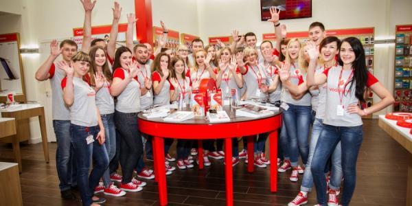 Кременчужан приглашают выиграть призы и подарки на открытии магазина Vodafone