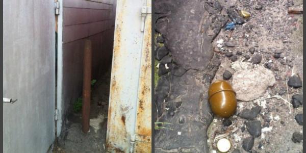 В гаражах на Молодежном валялась граната без запала