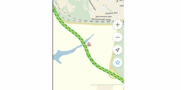 Водители смогут увидеть информацию о дорожных работах и перекрытиях трасс на карте