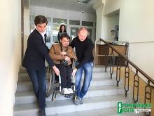 Проверка на доступность: как Крюковский суд проходил тест инвалида-колясочника