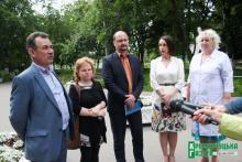 Детская больница благодарит руководство «Кременчугмясо» за ремонт кровли
