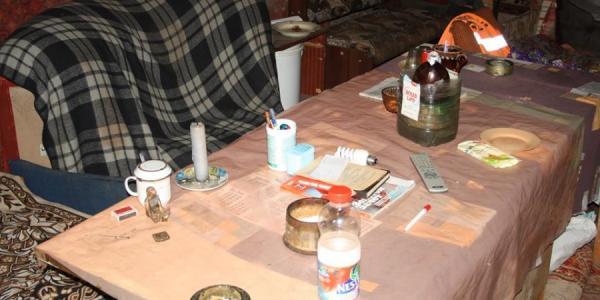 В Кременчуге самогон продают в подвале на улице Победы