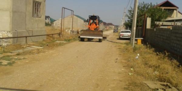 В Крюковском районе начинается грейдирование дорог