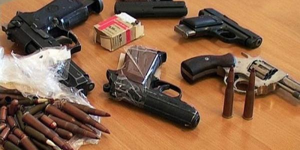 На Полтавщине добровольно сдали более 150 единиц оружия