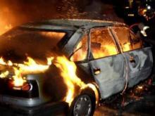 В Кременчуге ночью горели три машины