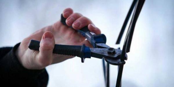 Патрульные Кременчуга задержали «кабельного вора»