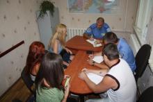 Активисты-экологи пришли в полицию Кременчуга с требованием разобраться с «титушками»