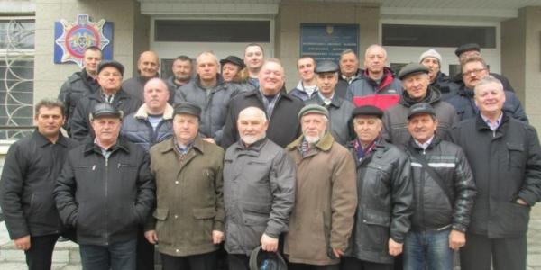 Ветераны делились опытом с молодым коллективом колонии