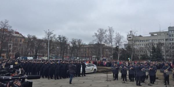 Полтава стала 16 городом, где начала свою работу патрульная полиция