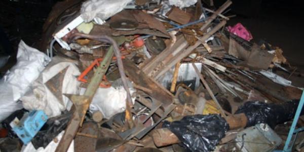Полиция обратила внимание на пункты по приему металлолома