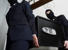 На выезде из Кременчуга из офиса украли сейф