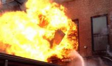 В Полтаве горели школа и ПТУ