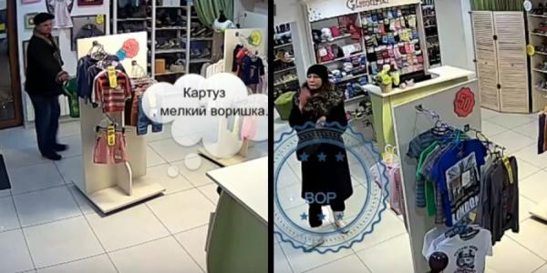Ограбление «по-детски» запечатлели камеры в кременчугском магазине