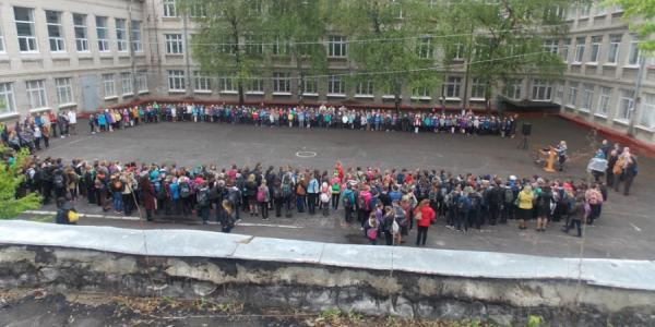 Школьников Кременчуга «готовят к эвакуации»