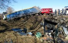 Количество погибших в ДТП на Полтавщине увеличилось