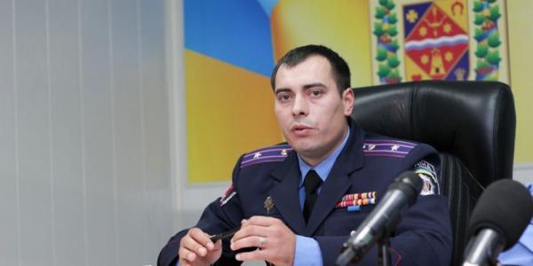Кременчугский райотдел милиции возглавил Вадим Могила