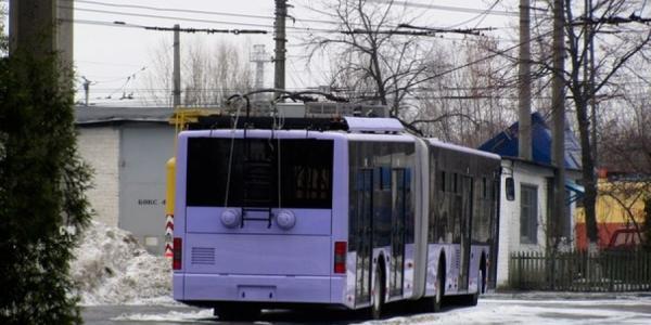 Мэр Кременчуга не исключает полной остановки движения троллейбусов