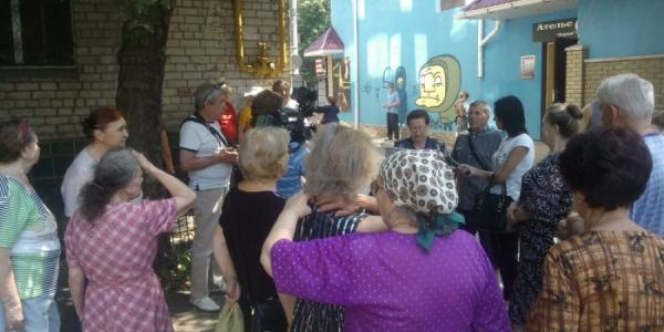 Кременчужане продолжают протестовать против «Кременчуггаза»