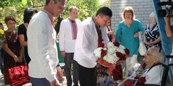 В День Независимости кременчужанка отпраздновала свой 105-летний юбилей