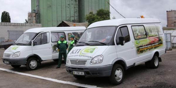 КП «Благоустрій Кременчука» купило две б/у машины, чтоб возить людей и инвентарь