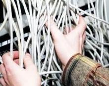 Кражи кабеля на Молодежном возобновились