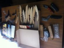 В Кременчуге задержан мужчина, который изготавливал ножи