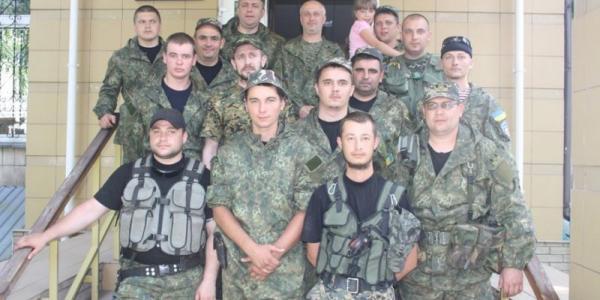 В Кременчуг из зоны АТО вернулись местные правоохранители