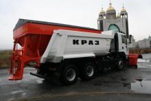 «Зимняя» новинка КрАЗа участвует в международной выставке