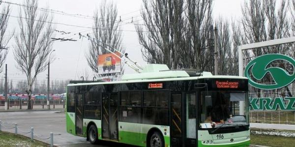 Троллейбусы № 2, № 3, № 5 не будут ходить на Молодежный
