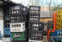 В Кременчуге обнаружили «цех» по производству фальсифицированной водки
